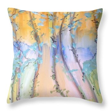 Lovely Is As Lovely Does Throw Pillow