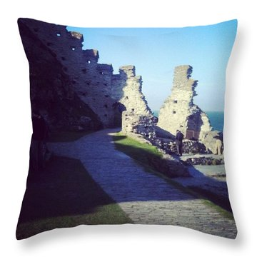 #lovephotography #light #love #castle Throw Pillow