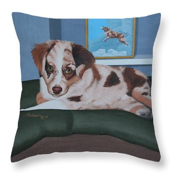 Loverboy Throw Pillow