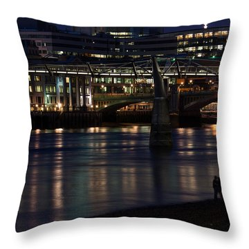 Lovers And Other Strangers Throw Pillow