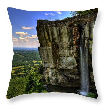 Lover's Leap Throw Pillow