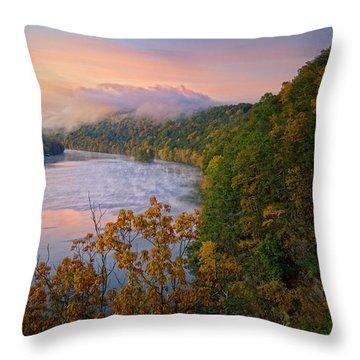 Lovers Leap Sunrise Throw Pillow