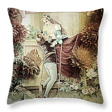 Lovers Number Two Throw Pillow