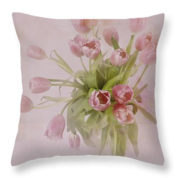 Love's Reach Throw Pillow by A New Focus Photography