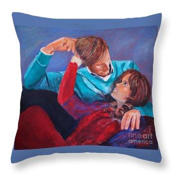 Lovestory Throw Pillow