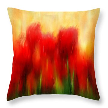 Loving Memories Throw Pillow by Lourry Legarde