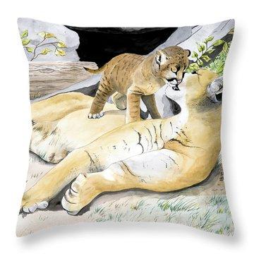 Loving Moment Throw Pillow