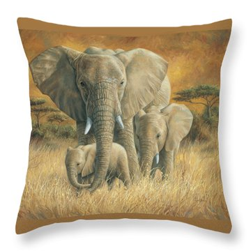 Loving Mother Throw Pillow