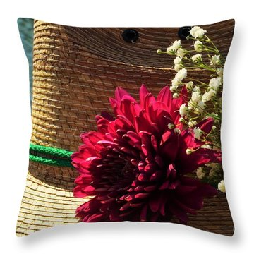 Loving Spring Throw Pillow