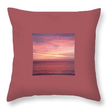 Loving  Sunset Throw Pillow