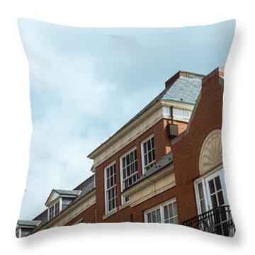 Low Angle View Of The Howard H. Baker Throw Pillow