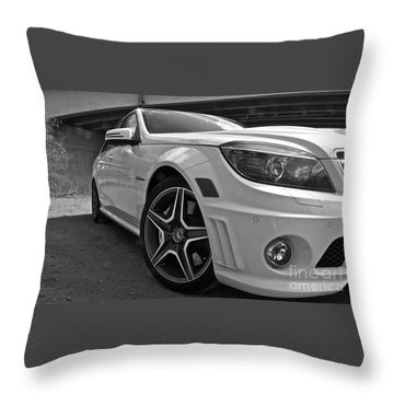 Throw Pillow featuring the photograph Low Profile by Linda Bianic