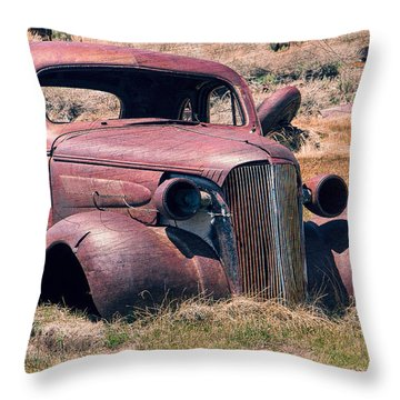 Throw Pillow featuring the photograph Low Rider by Steven Bateson