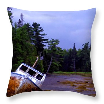 Northern Maine Throw Pillows