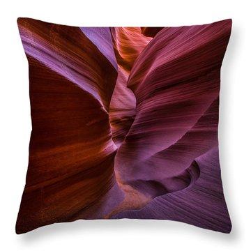 Lower Antelope Canyon Arizona - Square Throw Pillow