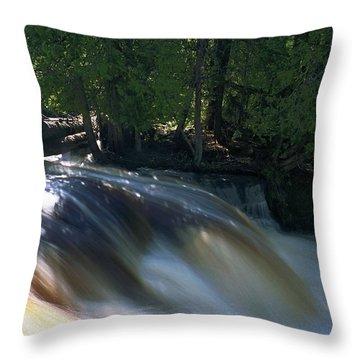 Lower Tahquamenon Falls Throw Pillow
