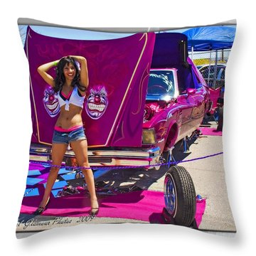 Lowrider_18 Throw Pillow