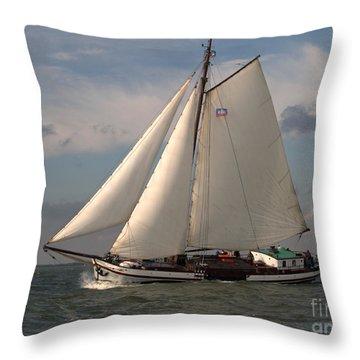 Loyal Winds Throw Pillow