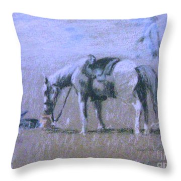 Loyalty Throw Pillow by Gretchen Allen