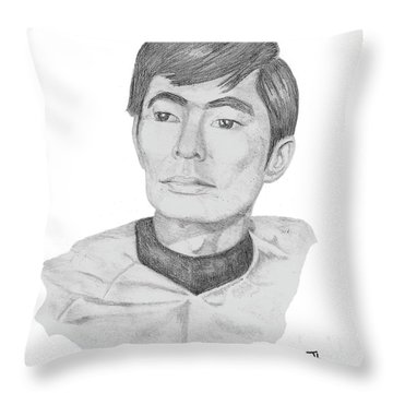 Lt. Sulu Throw Pillow