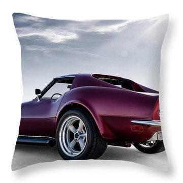 Lt1 Stingray Throw Pillow