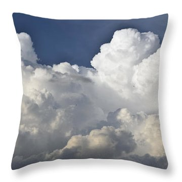 Cloud Formation Throw Pillows