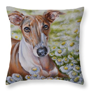Lucie  Throw Pillow