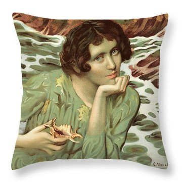 Voix Throw Pillows