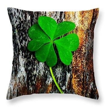 Luck Throw Pillow