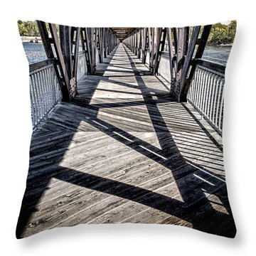 Lucky 13 Throw Pillow by Tamyra Ayles