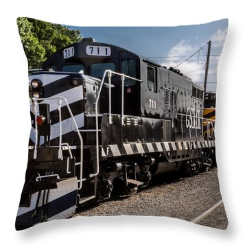 Lucky Engine 711 Throw Pillow