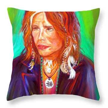 Lucky Throw Pillow by To-Tam Gerwe
