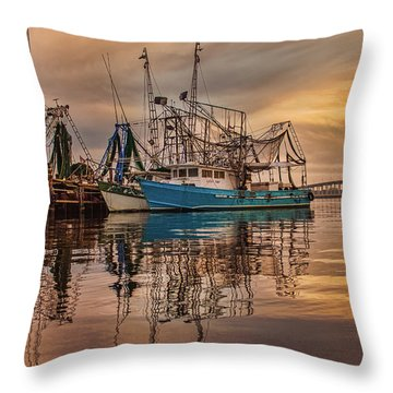 Lucky Tony Throw Pillow by Brian Wright
