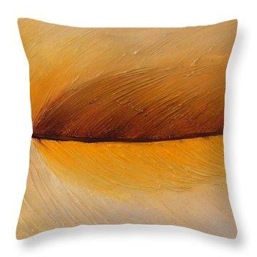 Lucky Yellow Throw Pillow