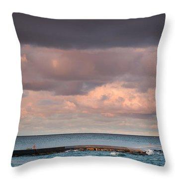 Ludington Throw Pillow by Sebastian Musial