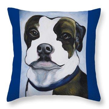 Lugnut Portrait Throw Pillow