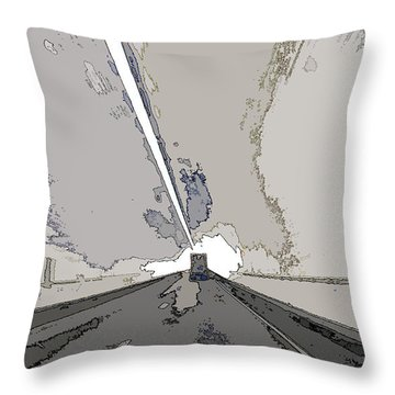 Throw Pillow featuring the photograph Lumen by Ecinja Art Works