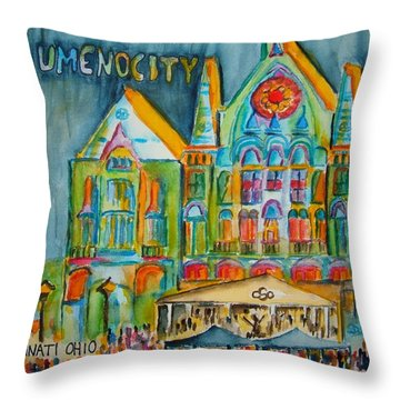 Lumenocity  Throw Pillow