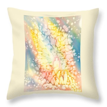 Luminaries Throw Pillow