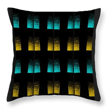 Throw Pillow featuring the digital art Luminescence 7a by Darla Wood