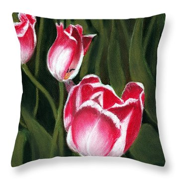 Luminous Throw Pillow by Anastasiya Malakhova