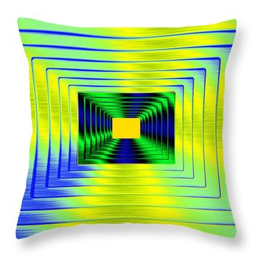 Luminous Energy 18 Throw Pillow by Will Borden