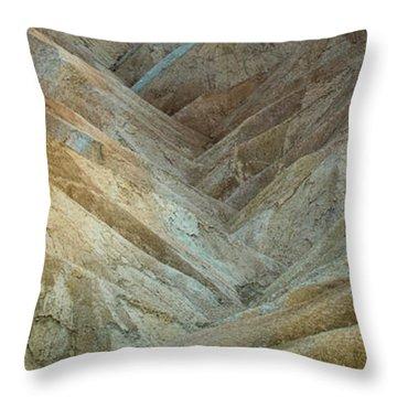 Luminous Lands Throw Pillow
