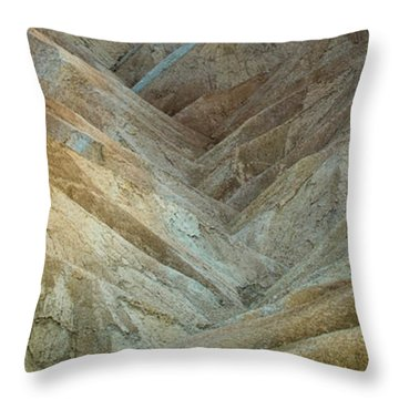 Luminous Lands Throw Pillow