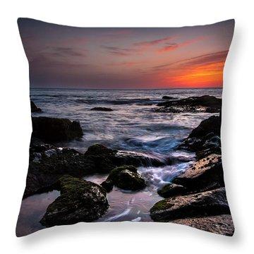 Luminous Stones Throw Pillow by Edgar Laureano