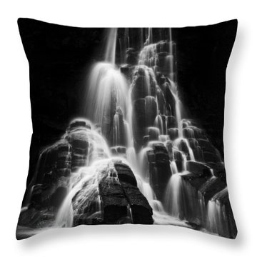 Luminous Waters I Throw Pillow