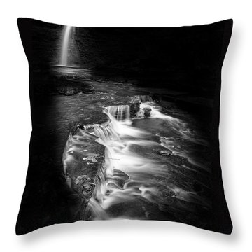 Luminous Waters Vi Throw Pillow