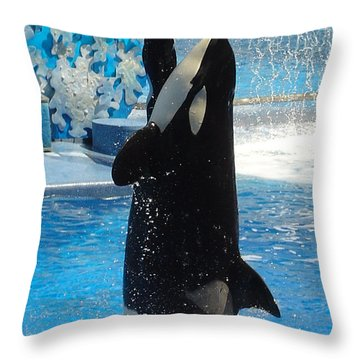 Throw Pillow featuring the photograph Lump In The Throat Time by David Nicholls