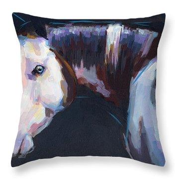 Luna I Throw Pillow