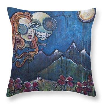 Luna Our Love Eternal Throw Pillow